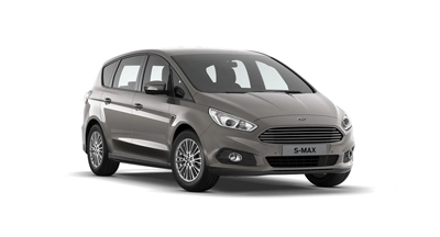 Ford S-MAX - Available in Diffused Silver