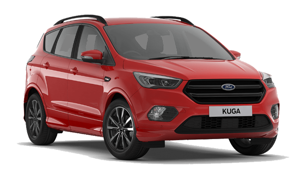 Ford Kuga - Race Red
