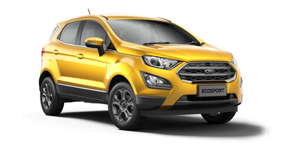 Ford New Ecosport - Available In Luxe Yellow