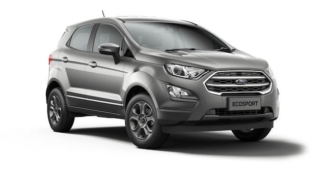 Ford New Ecosport - Available In Solar Silver
