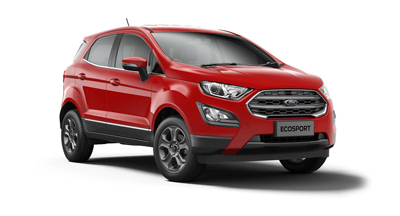 Ford New Ecosport - Available In Race Red
