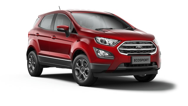 Ford New Ecosport - Available In Lucid Red