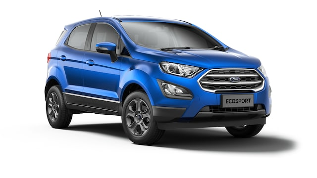 Ford New Ecosport - Available In Desert Island Blue