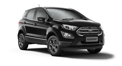 Ford New Ecosport - Available In Agate Black